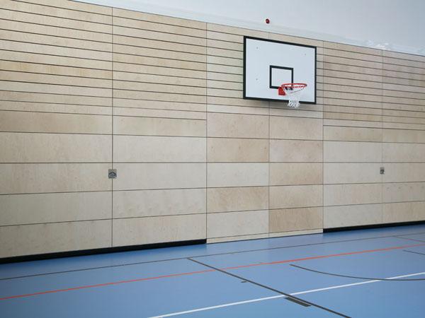 diaplan - Prallwand aus Holz